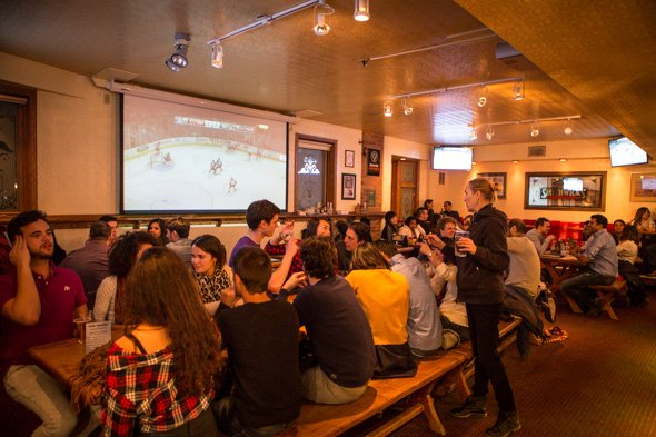 Bars for students in Toronto