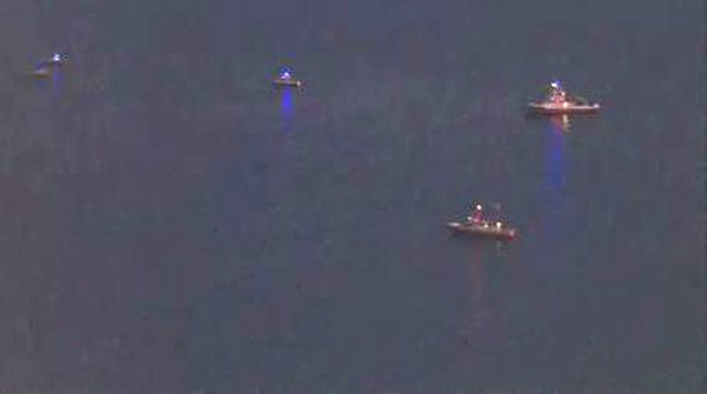 2 aircraft go down off Los Angeles coast