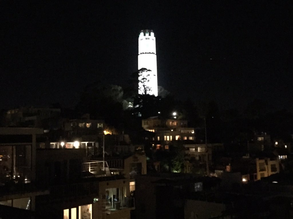 But meanwhile here's a view of coittower