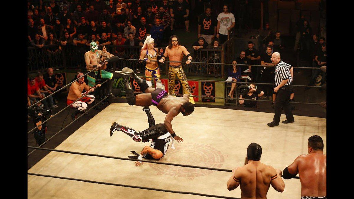 Lucha Underground is uniting a diverse L.A.
