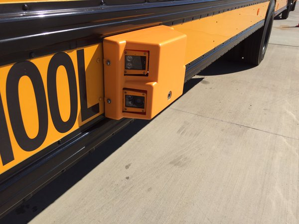 Starting Monday, people caught passing a stopped Austin ISD bus will be mailed a $300 ticket