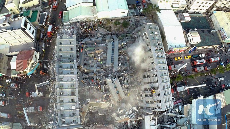 UPDATE: At least 11 killed in #Taiwan earthquake; more than 170 still unaccounted for https://t.co/stuTuXp6SB https://t.co/Ll9Gb7Wmx6