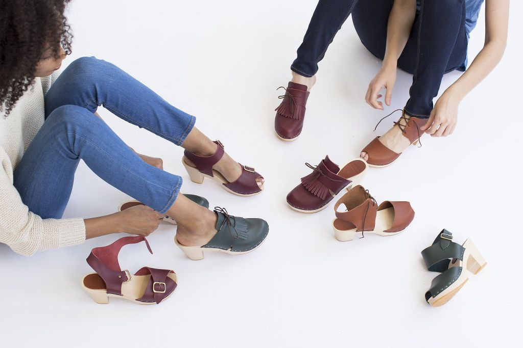 These clogs walk the line between clunky and cool. via @SFC_Style