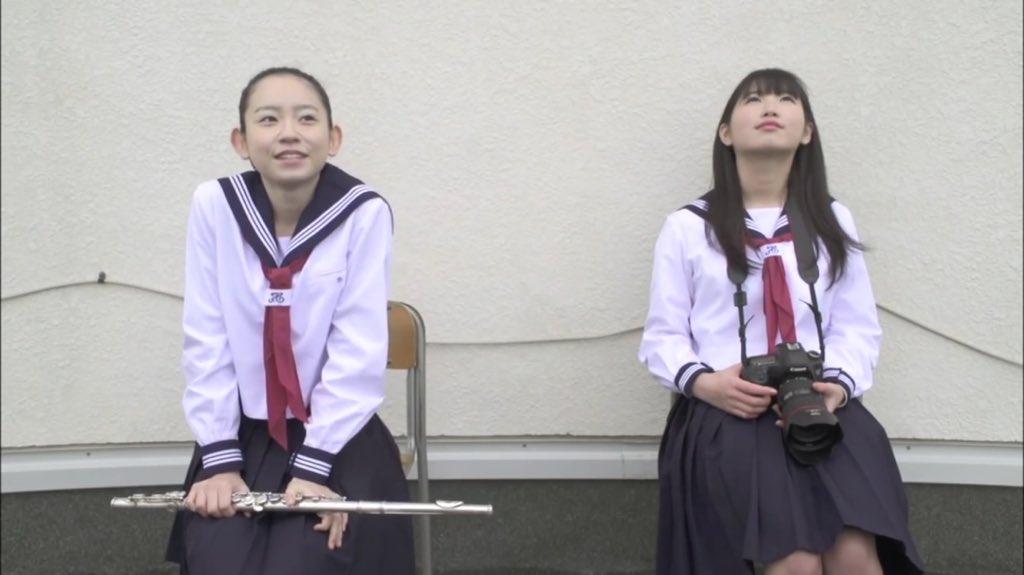 MVに出演した柴田杏花