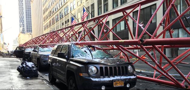 Deadly crane collapse in Lower Manhattan