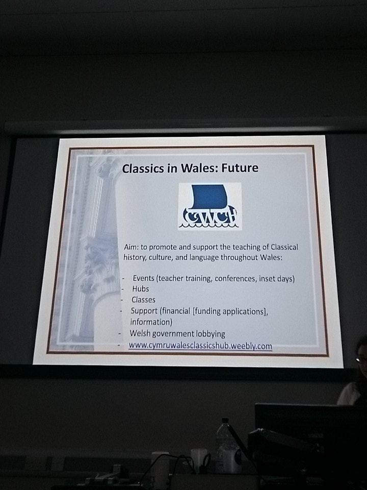 #ClassicsWales CWCH project looks to develop the teaching of Classical History culture and language across Wales https://t.co/jbIMruaVIN
