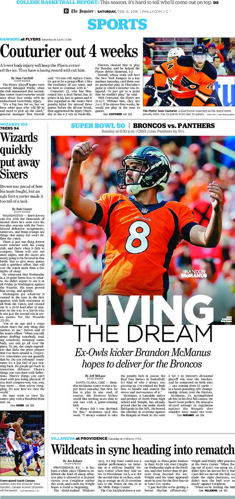 From today's Inquirer, 02/06/16