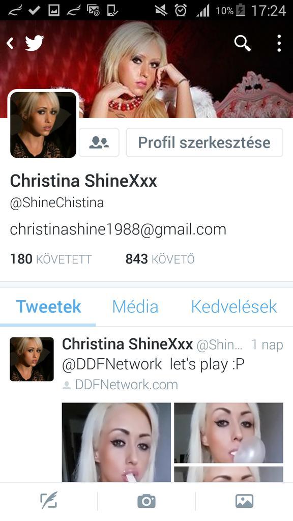 Christina Shine Nude Photos 5