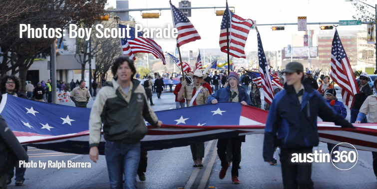 The 67th annual Boy Scout Parade