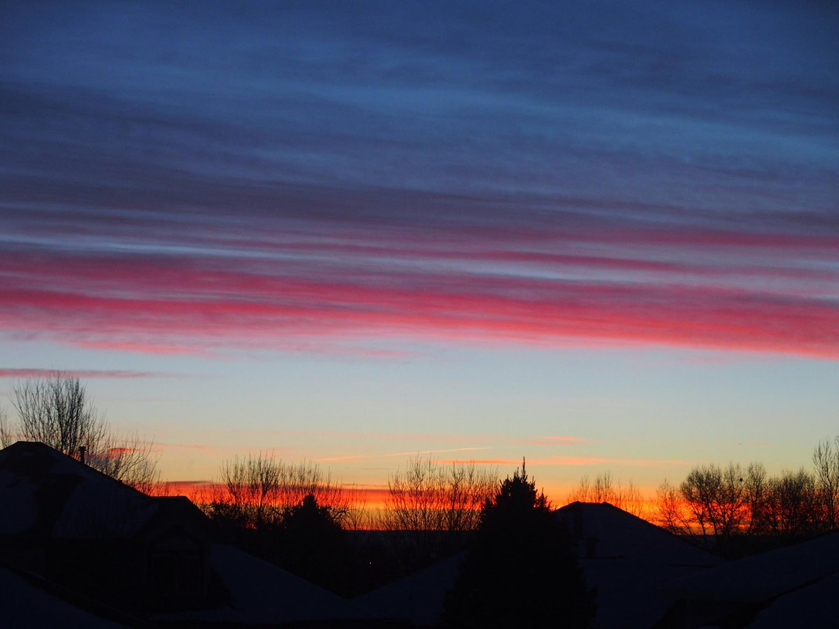 Clear skies, higher temps, secure your hat: COwx (Pic: Adele Munson Jackson, Longmont)