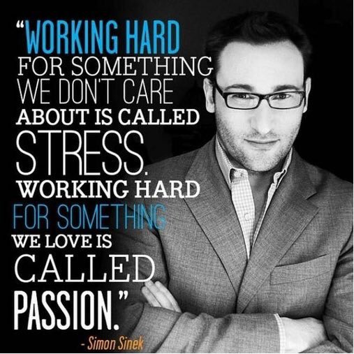 """Your passion must be contagious. Some will resent it because they are just stressed."" MT @marcihouseman #Leadupchat https://t.co/PTmoG58DtN"