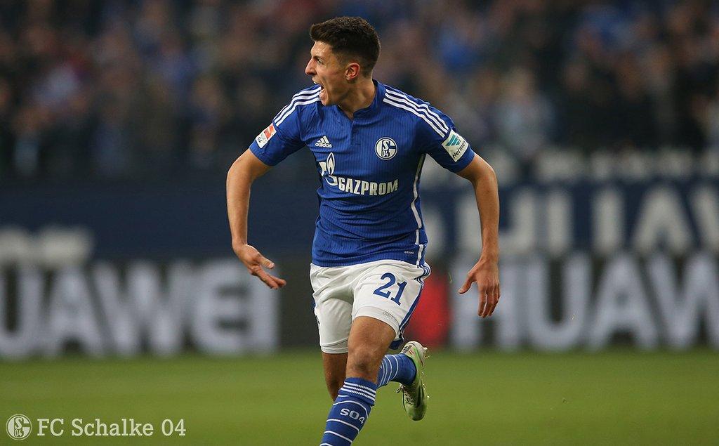 Schöpf em seu primeiro gol no Schalke