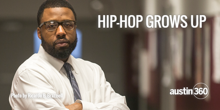 Bavu Blakes, once Austin's most influential rapper, moves the culture forward as a teacher