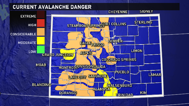 If you plan to play in the snow today, backcountry travel will be dangerous. Be safe! @9News 9wx