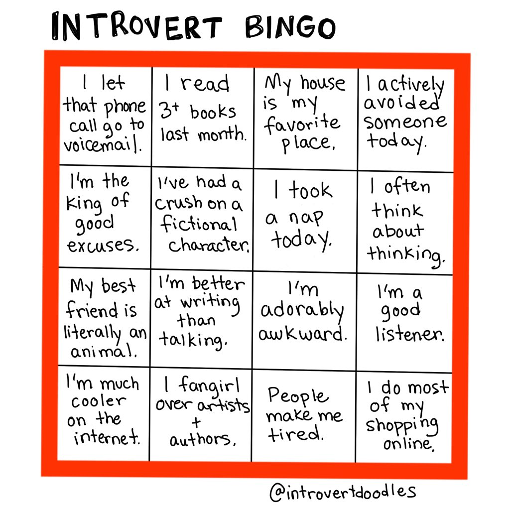 Marzipan On Twitter Come Follow My Alter Ego Introvert Doodles On