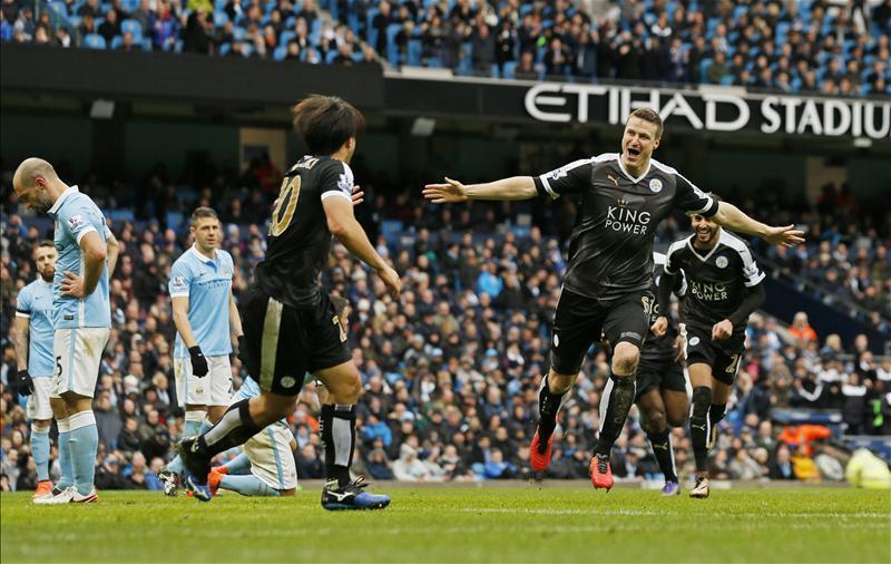 ไฮไลท์  Manchester City 1 - 3 Leicester City