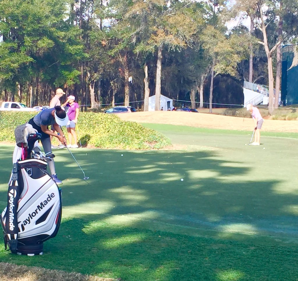 putt or drive @themichellewie looking to thrive under @coatesgolfchamp final round pressure #RLDrives https://t.co/UpoEDPWPQe