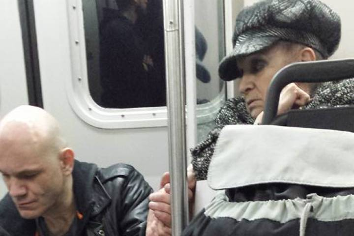 of act of kindness on Vancouver's SkyTrain goes viral