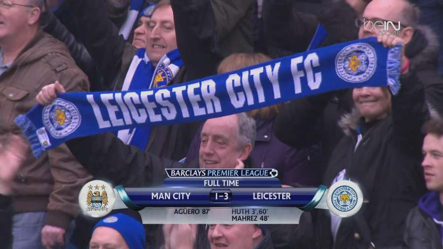 Manchester City - Leicester City 1-3 Video Gol Highlights