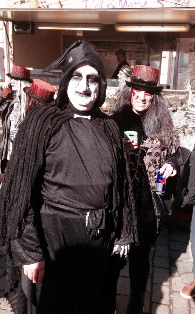 Frederic Hutter On Twitter Fasching Walkingdead Zombies