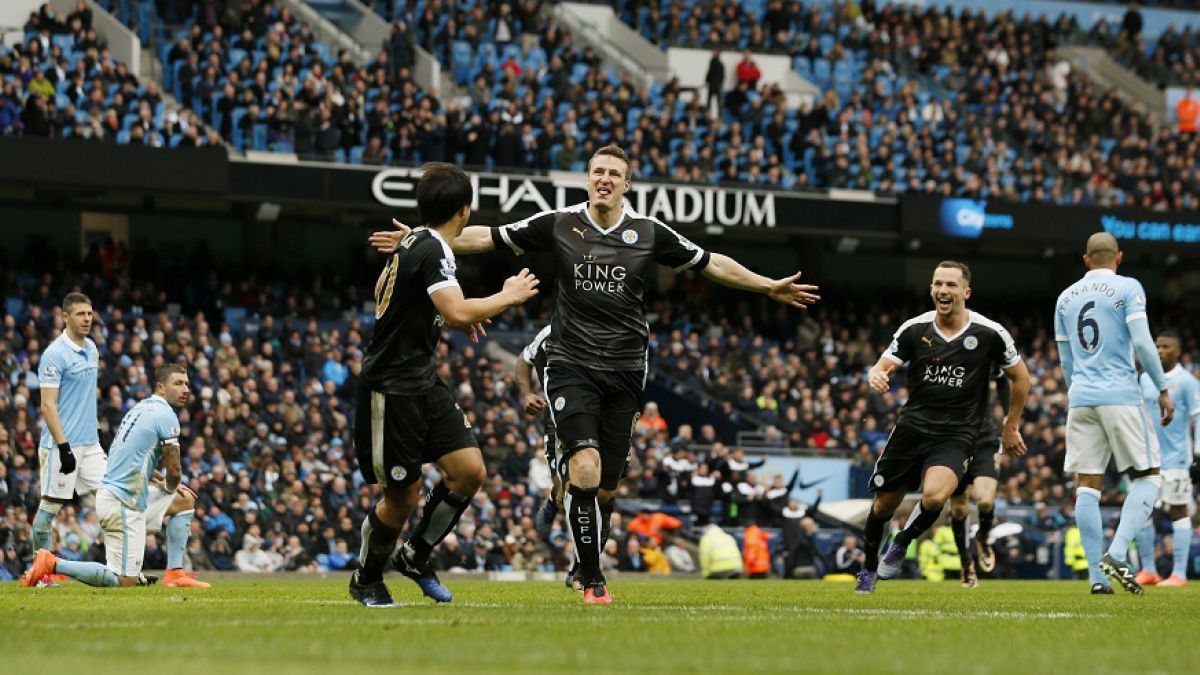Manchester City-Leicester 1-3 Video Gol (Premier League)