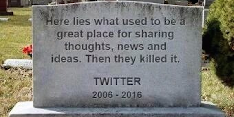 #RIPtwitter - don't change what we love... https://t.co/KeGTH5KQzf https://t.co/GqyMlpdoHp