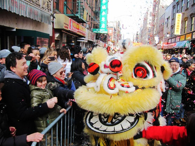 Lunar New Year festivities around NYC start today, include lion dances and fireworks