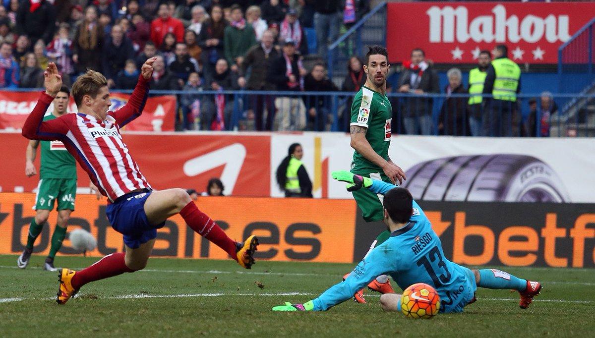 Fernando Torres, Atletico Madrid, Hasil Atletico Madrid vs Eibar, Atletico Madrid vs Eibar, Hasil Liga Spanyol