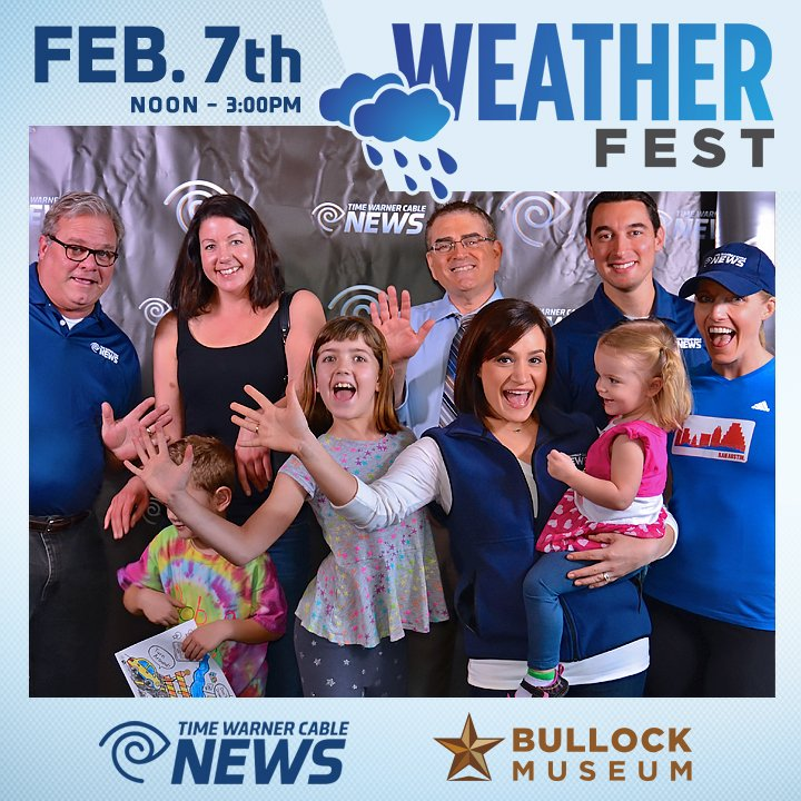 Planning Your Weekend? FREE family event on Sunday: WeatherFestTX at the Bullock Museum!