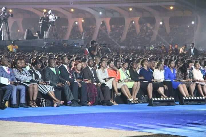 Biggest event in Ghana ! All 3 venues;  Independence Square , Stadium, & State House, packed !  #PastorChrisInGhana https://t.co/u05ULQun3a