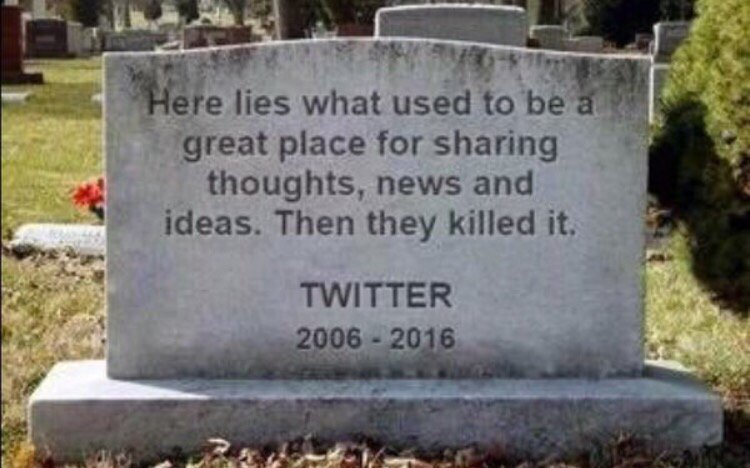 Twitter is reportedly changing timelines from chronological order to an algorithm of most popular. #RipTwitter https://t.co/qwjwEsCSpk