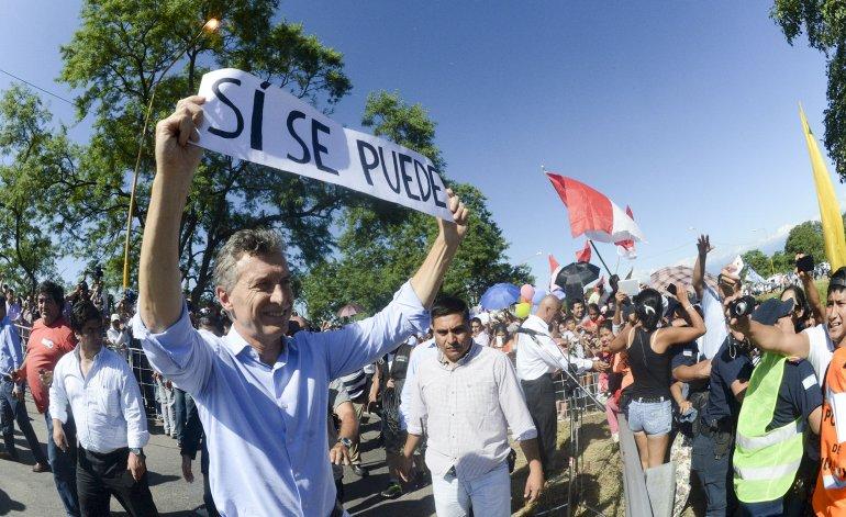 Gracias a Macri volvi a caminar!