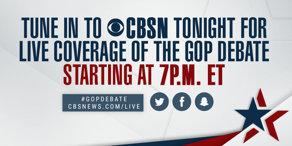 How to watch tonight's Republican debate in New Hampshire