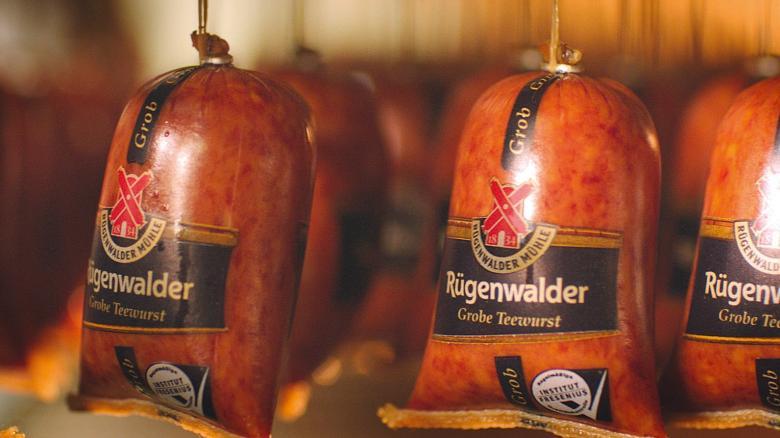 "Attenzione: Escherichia coli nel Salame ""Rügenwalder Teewurst grob"""