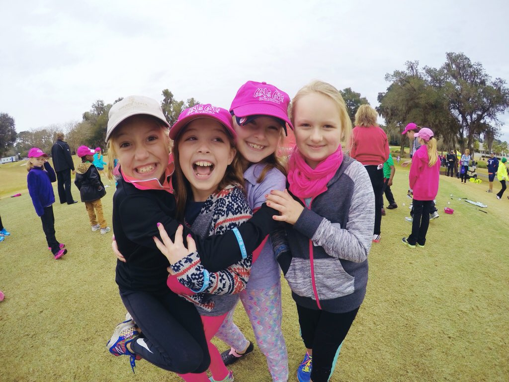 Having a blast at @LPGAGirlsGolf clinic at @CoatesGolf   #thecoates  #littlegirlsbigdreams #girlsgolf https://t.co/VYOUvM0TO5