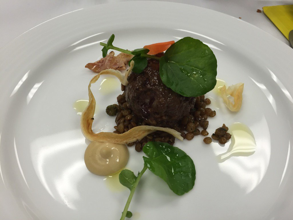 Vancouver chef Alex Chen BB dish @GoldMedalPlates