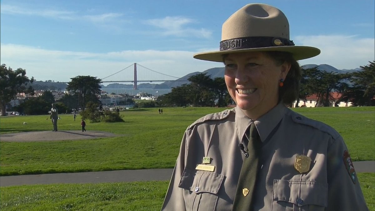Broncos Fan In Charge At Golden Gate Park