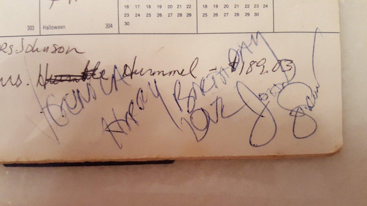 Here&#39;s my #John Stamos autograph. &quot;Veronica Happy Birthday Love John Stamos&quot;. Cool, right? <br>http://pic.twitter.com/jkedZ8n4gg