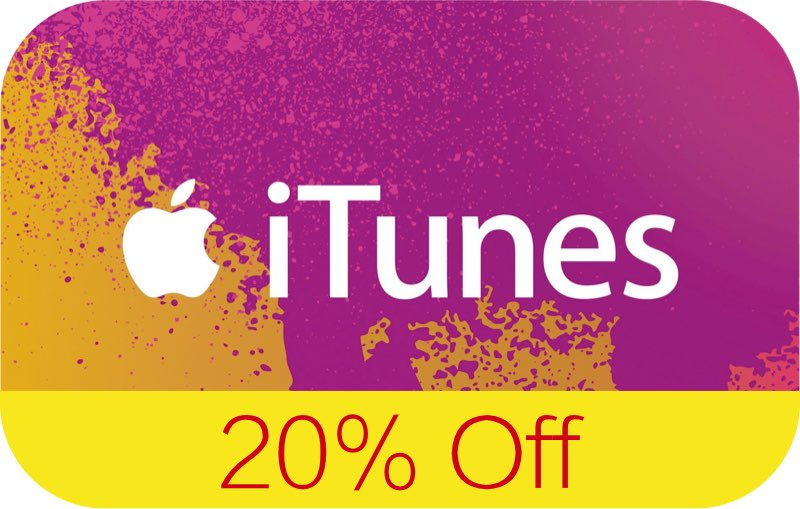 #iTunes vouchers currently 20% off at Tesco (UK only)   #apps #Apple #Mac   . https://t.co/V6fh6Quxb9