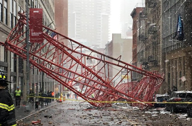 Tribeca Crane Owner Previously Sued Over Faulty Equipment