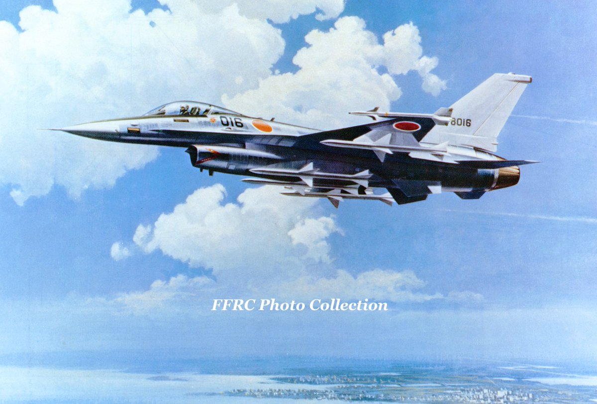 General Dynamics F-16J For JASDF promotional handout, 1976 第5回国際航空宇宙ショー @LWFviper