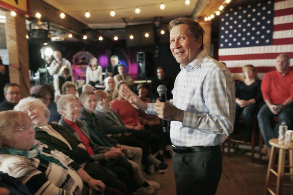 Editorial: Republicans should vote for John Kasich in N.H. | Via @GlobeOpinion