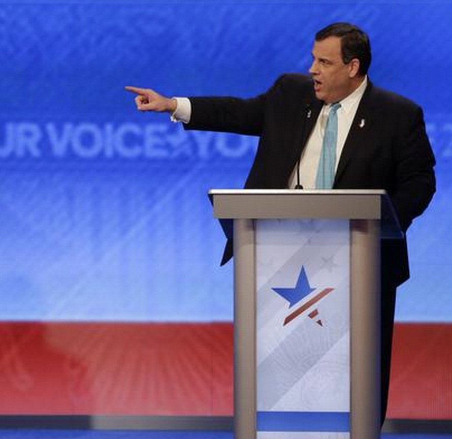 Chris Christie rattles Marco Rubio with tough attack