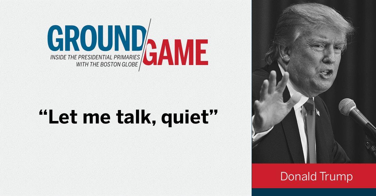 Jeb Bush and Donald Trump trade barbs GOPdebate