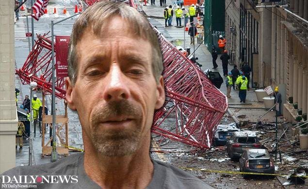 JUST IN: First photo of Kevin Reilly, construction worker veered crane away from pedestrians