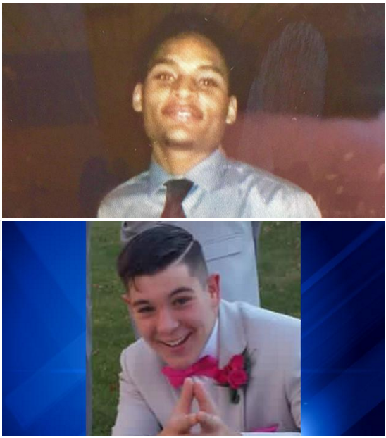 Two teens, aged 17 and 15, are found shot to death in a car in Gary, Ind.