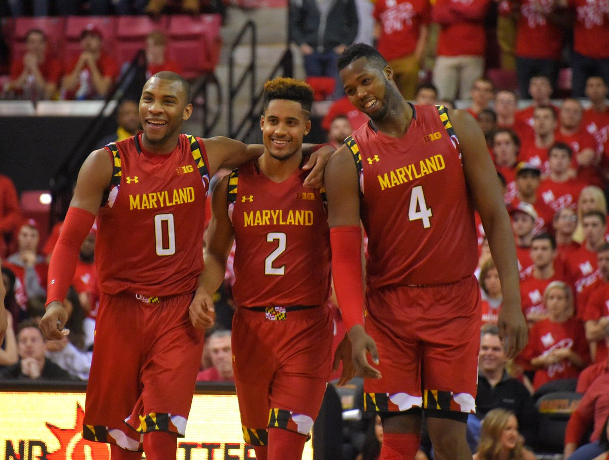 No. 4 Maryland used a big run late to take down No. 18 Purdue, 72-61