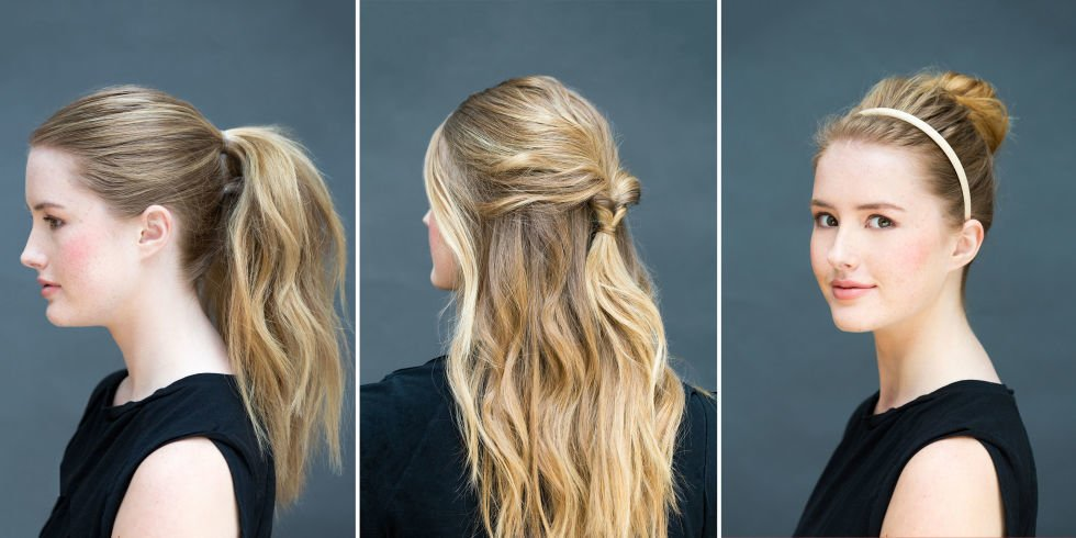 10 super easy hairstyles you can do in literally 10 seconds: https://t.co/jrnknfRGyy https://t.co/9dw3fmPKRP