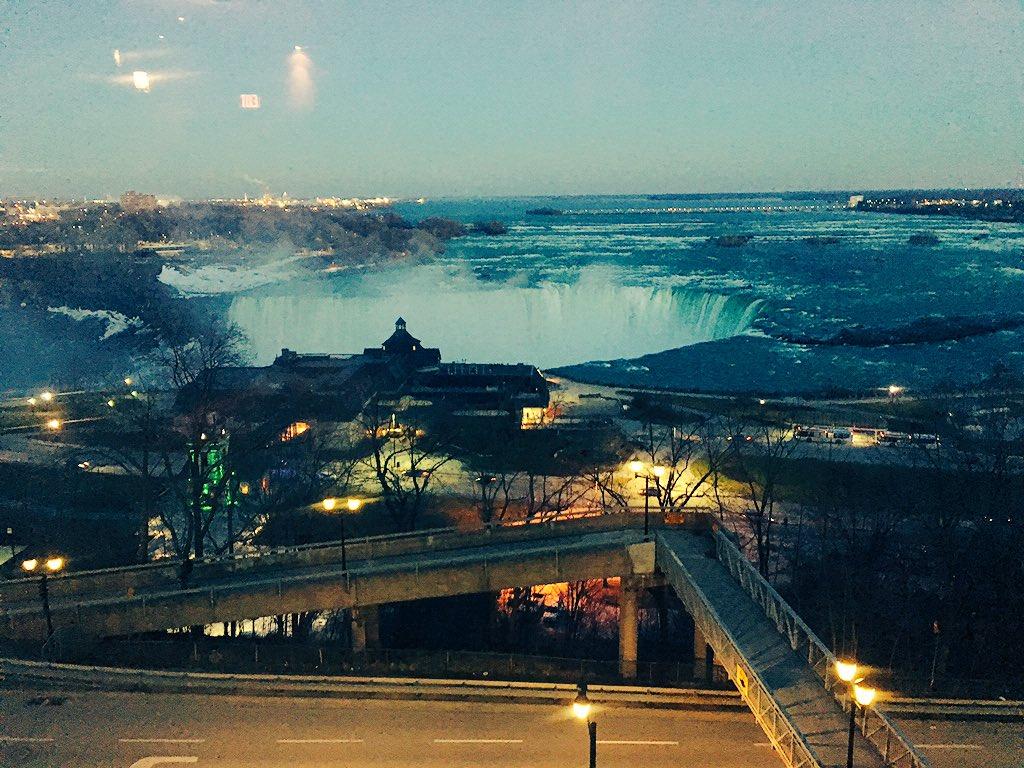 Twitter post: RT @stevedolson: Enjoying a Falls View at @TheKeg.…Read more. Opens full post in an overlay