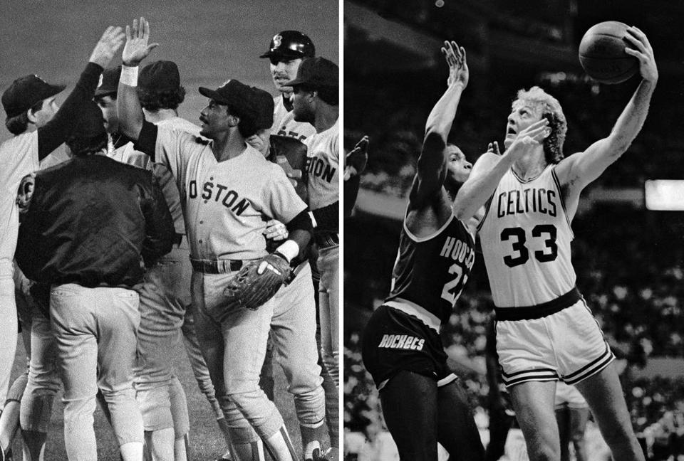 Two teams, one writer and a legendary year in Boston sports